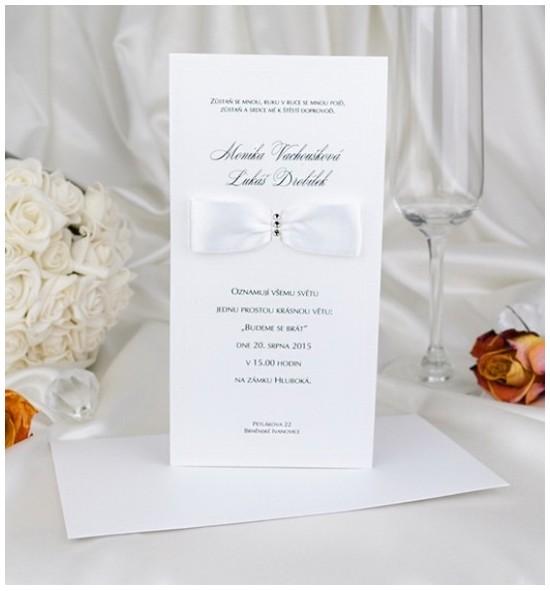Svatební oznámení G2041