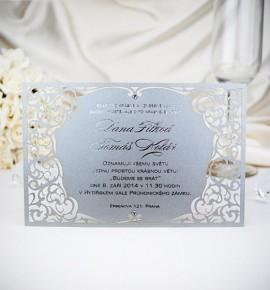 Svatební oznámení G2043