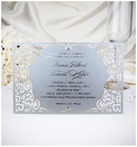 Svatební oznámení G2043A