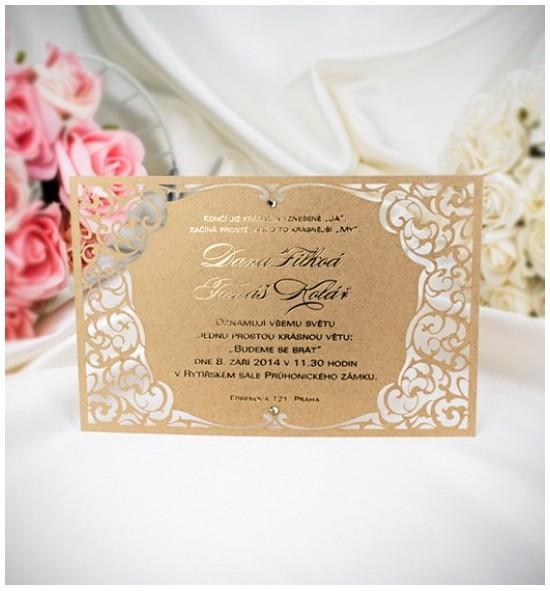 Svatební oznámení G2043B