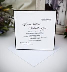 Svatební oznámení G2021B