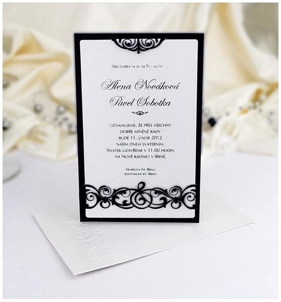 Svatební oznámení G901A