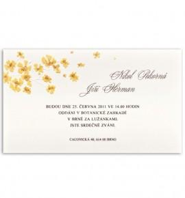 Svatební oznámení G919