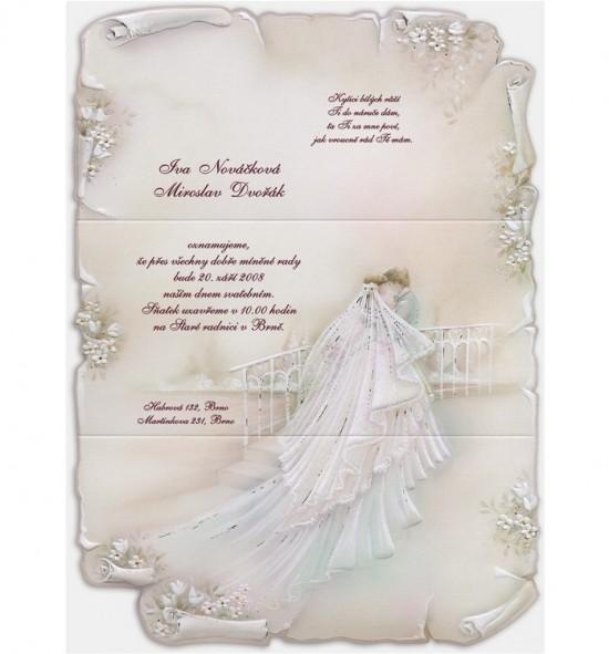 Svatební oznámení G936