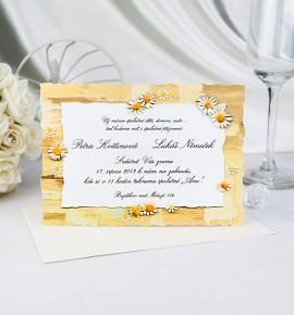 Svatební oznámení G940