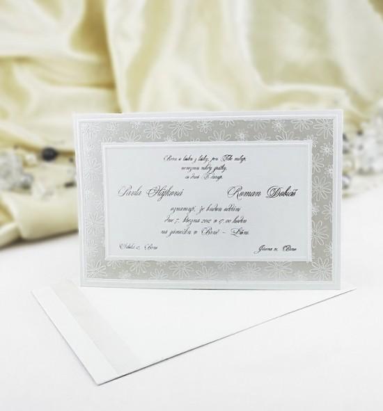 Svatební oznámení G943
