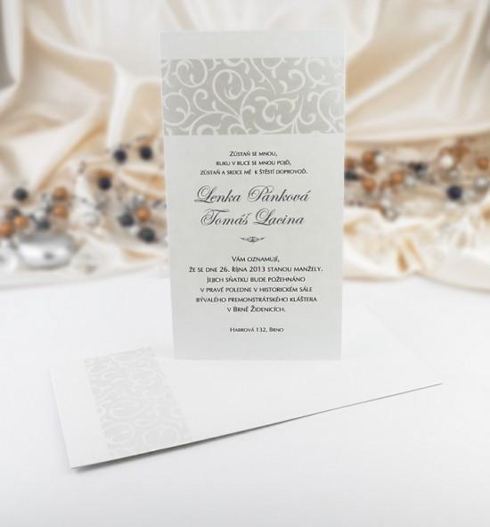 Svatební oznámení G949