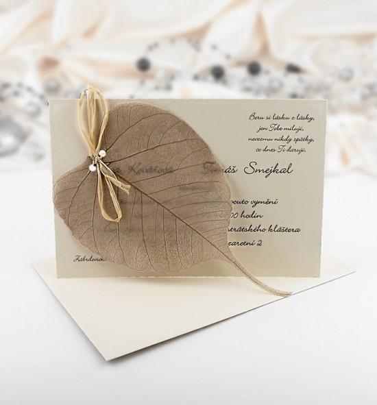 Svatební oznámení G951