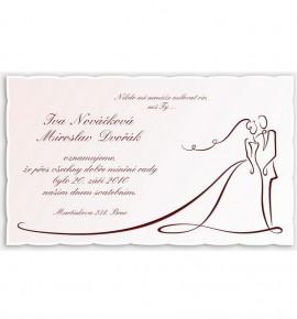 Svatební oznámení G955