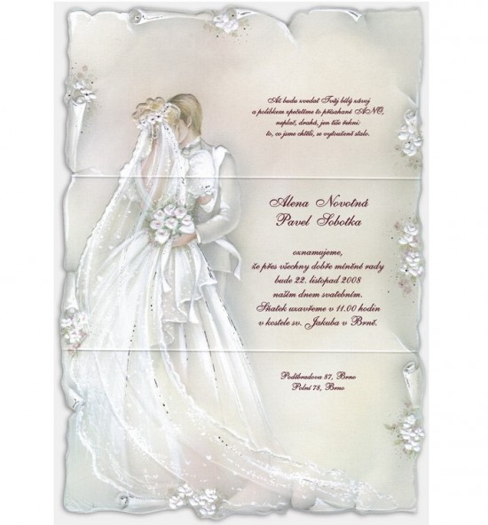 Svatební oznámení G960