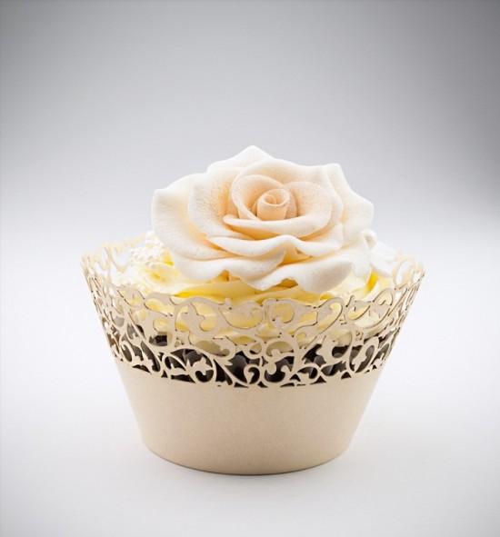 Svatební košíčky na cupcakes - CC1103