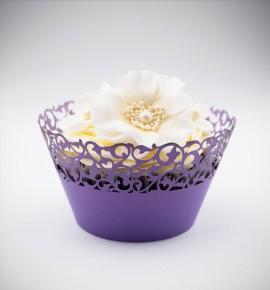 Svatební košíčky na cupcakes - CC1117