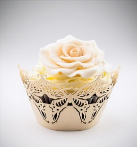 Svatební košíčky na cupcakes - CC1203