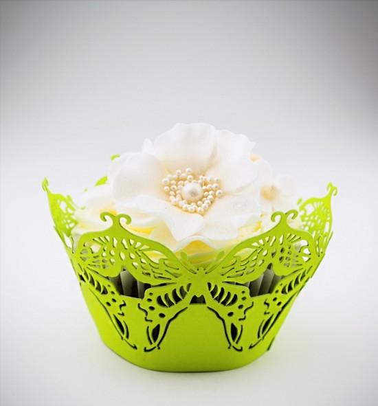 Svatební košíčky na cupcakes - CC1213