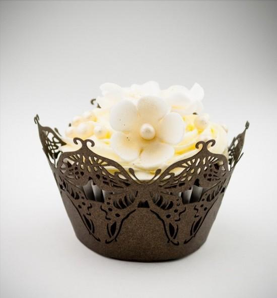 Svatební košíčky na cupcakes - CC1216