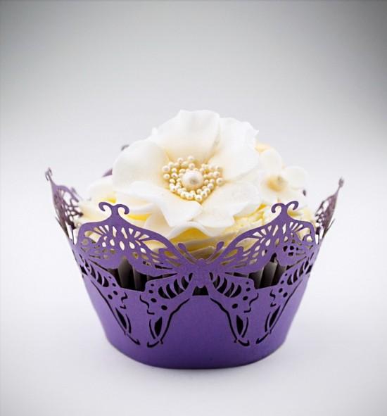 Svatební košíčky na cupcakes - CC1217