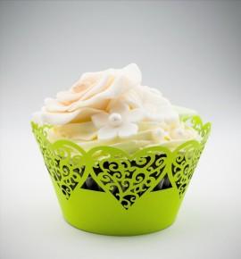 Svatební košíčky na cupcakes - CC1313
