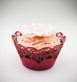 Svatební košíčky na cupcakes - CC1314