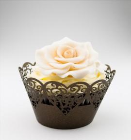 Svatební košíčky na cupcakes - CC1316