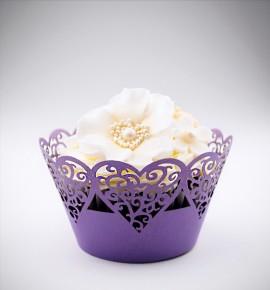 Svatební košíčky na cupcakes - CC1317