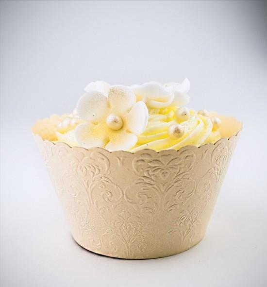 Svatební košíčky na cupcakes - CC1403