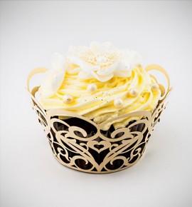 Svatební košíčky na cupcakes - CC1503
