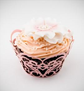Svatební košíčky na cupcakes - CC1505