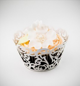 Svatební košíčky na cupcakes - CC1602