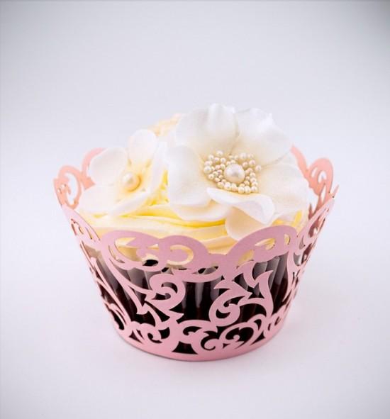 Svatební košíčky na cupcakes - CC1605