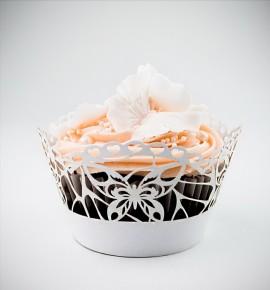 Svatební košíčky na cupcakes - CC1702