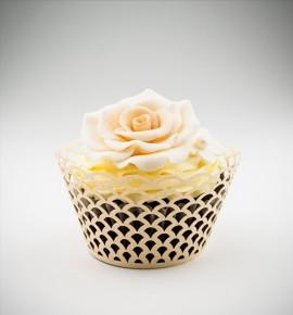 Svatební košíčky na cupcakes - CC1803