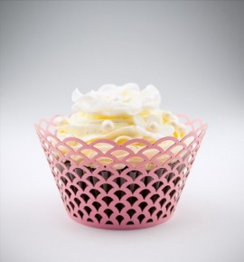 Svatební košíčky na cupcakes - CC1805