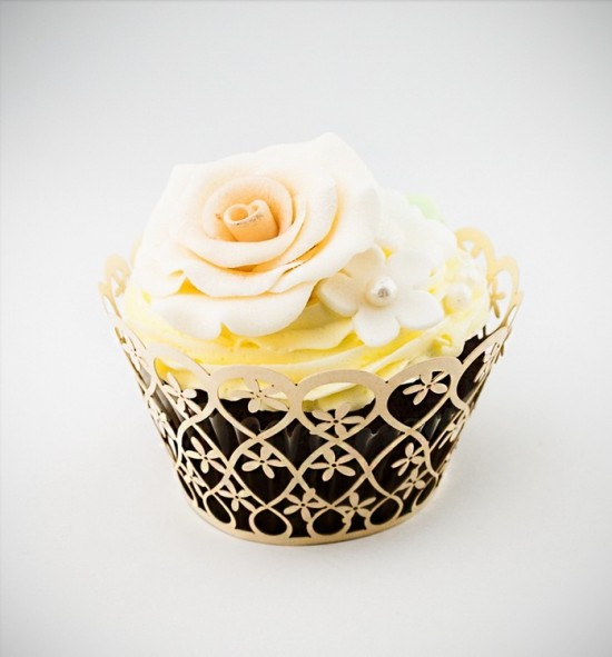 Svatební košíčky na cupcakes - CC2003