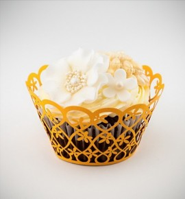 Svatební košíčky na cupcakes - CC2004