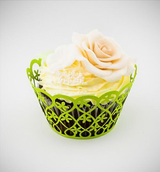 Svatební košíčky na cupcakes - CC2013