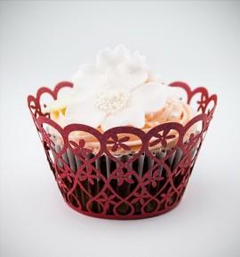 Svatební košíčky na cupcakes - CC2014