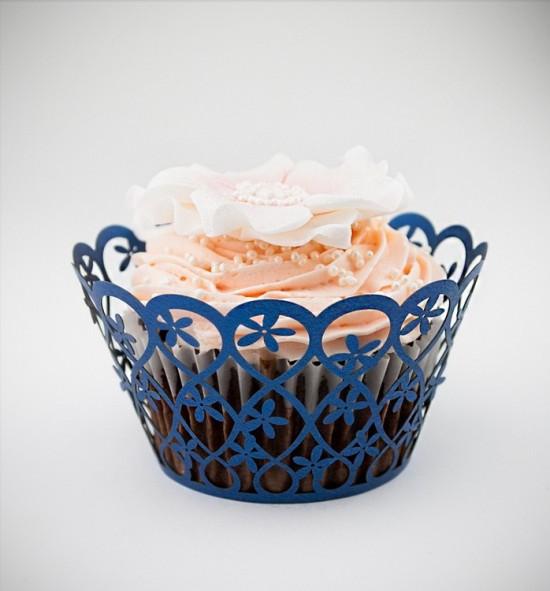 Svatební košíčky na cupcakes - CC2015