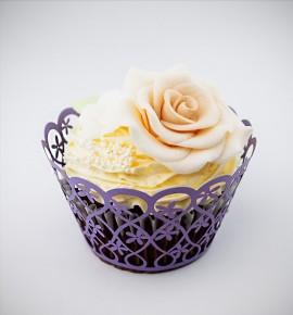Svatební košíčky na cupcakes - CC2017