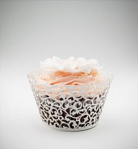 Svatební košíčky na cupcakes - CC2102