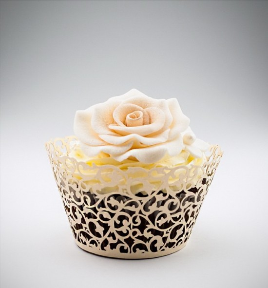 Svatební košíčky na cupcakes - CC2103