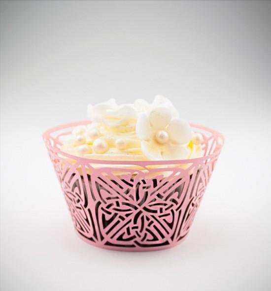 Svatební košíčky na cupcakes - CC2205