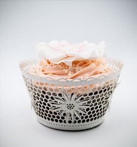 Svatební košíčky na cupcakes - CC2302