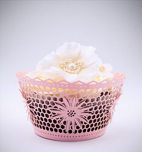 Svatební košíčky na cupcakes - CC2305