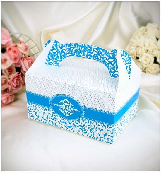 Krabička na výslužku K1001 - světle modrá