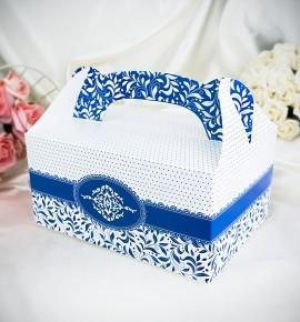 Krabička na výslužku K1002 - tmavě modrá