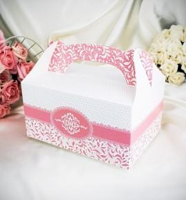 Krabička na výslužku K1003 - světle růžová