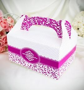Krabička na výslužku K1004 - fuchsiová