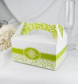 Krabička na výslužku K1011 - zelená