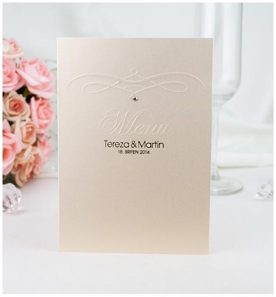 Svatební menu M2003