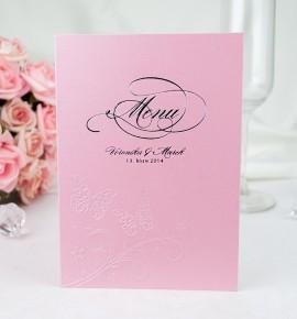 Svatební menu M2005
